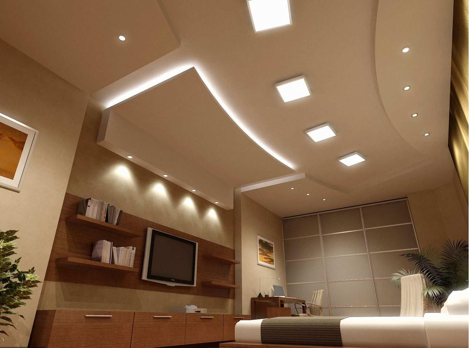 Идеи для потолка из гипсокартона фото
