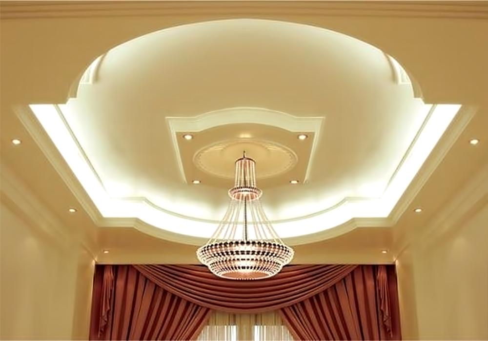Фото дизайна потолков из гипсокартонов