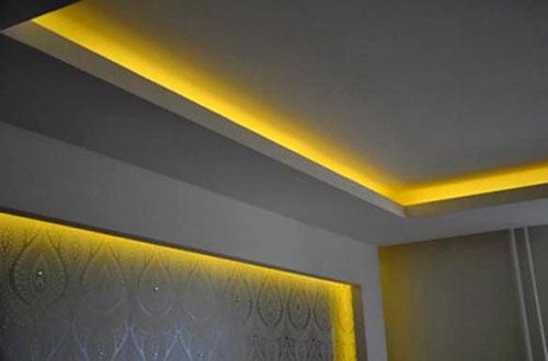 Натяжной потолок с светодиодной подсветкой своими руками