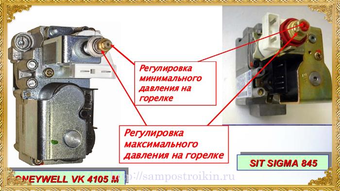 Настройка газовой горелки для котла своими руками