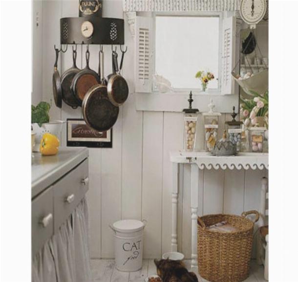 Кухонная утварь как часть интерьера