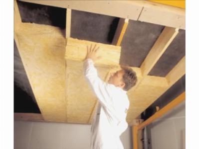 Теплоизоляция потолка в бане
