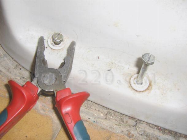 Демонтаж сантехнического оборудования