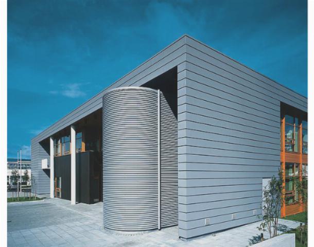 Отделка фасадов частных домов профлистом