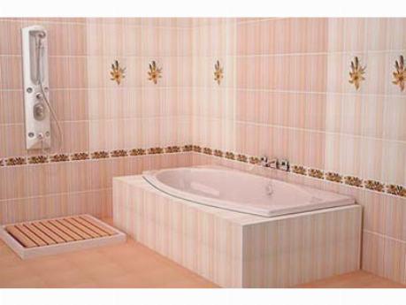 Плитка для ванной комнаты на пол
