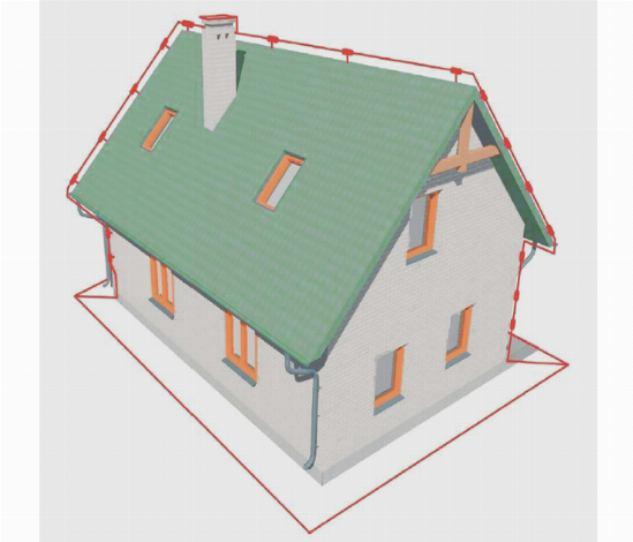 Схема заземления металлической крыши