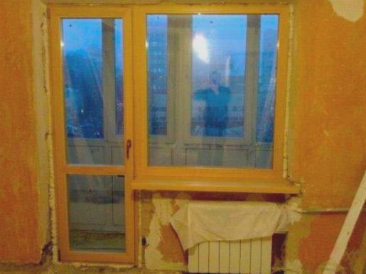 Утепление балконной двери