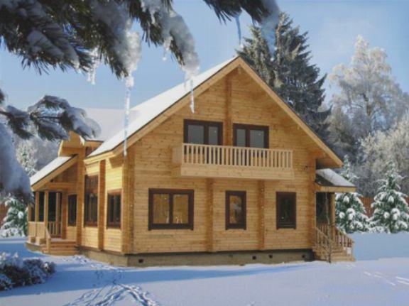 Утепление деревянного здания