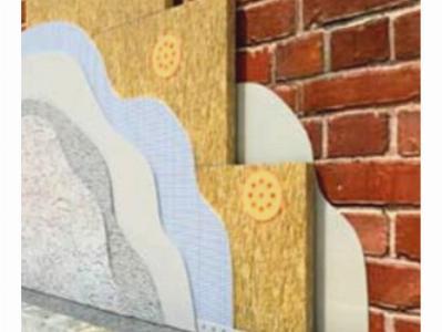 Утепление кирпичных стен под штукатурку