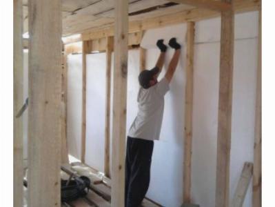 Утепление стен дома пенопластом изнутри