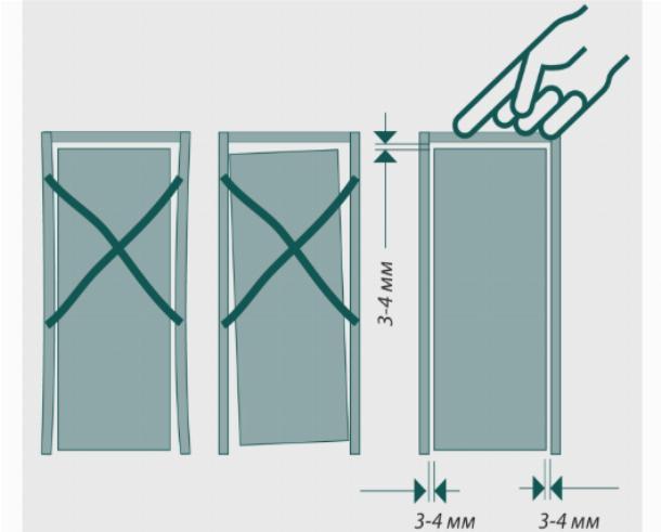 Зазоры и щели между дверным полотном и коробкой