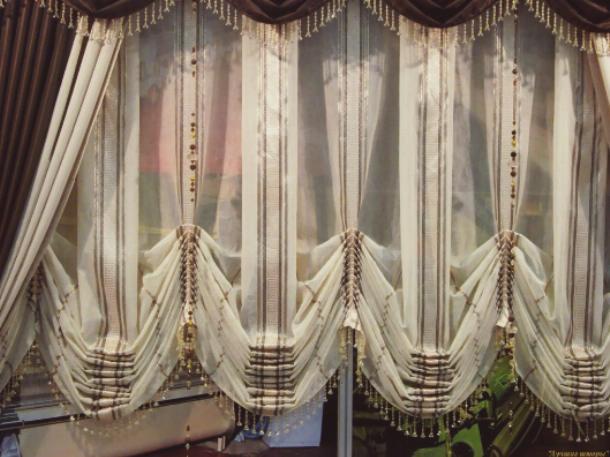 Австрийские шторы будут хорошо смотреться в любых типах помещений