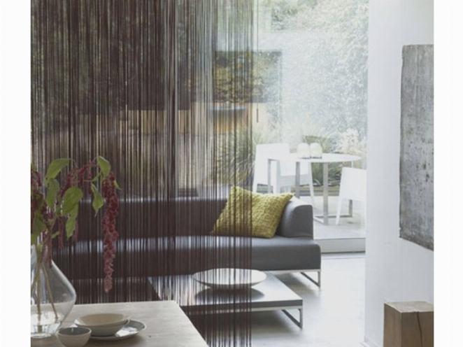 Дизайн нитевых штор
