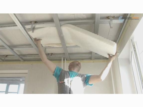 Как делается звукоизоляция потолка в квартире