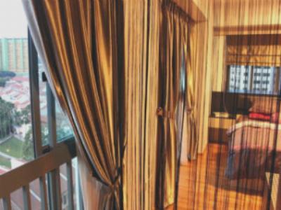 Кисея — уникальные веревочные шторы в интерьере