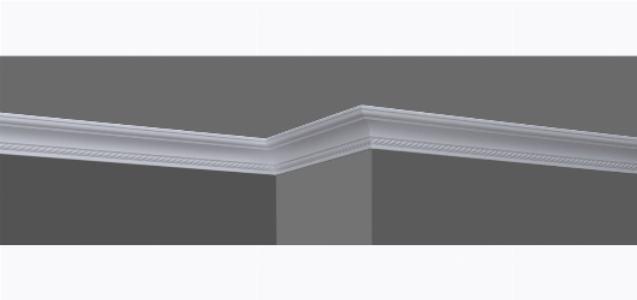Клеим потолочный плинтус на стену