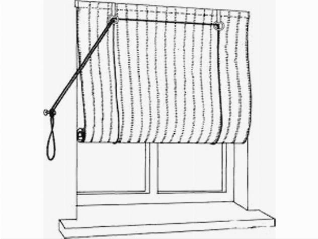Рулонная штора самостоятельно