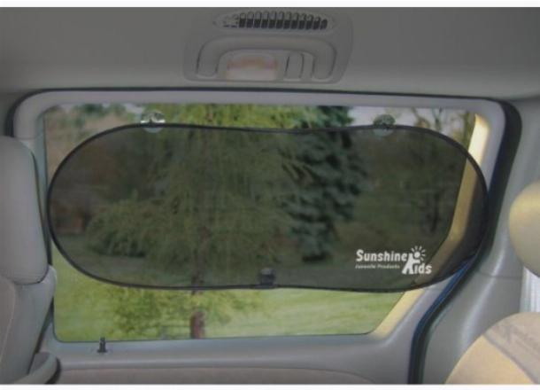 Солнцезащитные экраны, они же шторки на присосках