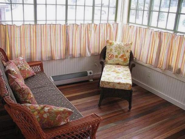 Шторы для балкона-террасы