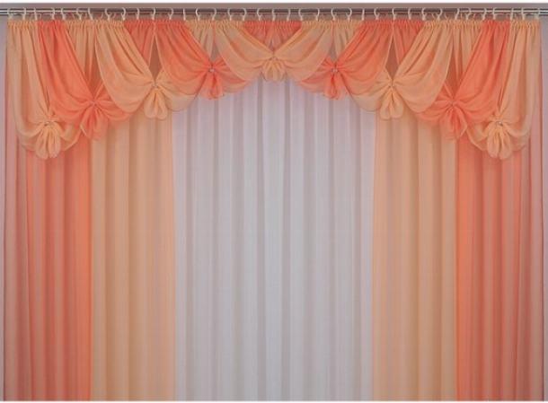 Шторы из вуали смогут сделать уютным интерьер любого помещения