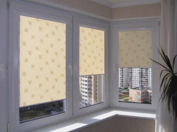 Шторы ролеты для балкона