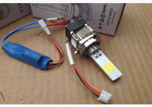 Светодиодная лампа Moon Light H7–18W (тип K)