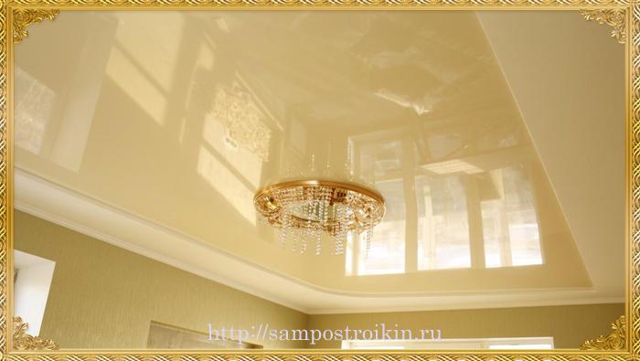Какой натяжной потолок выбрать белый, глянцевый или матовый фото каталоги и как помыть их