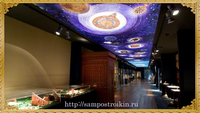 Натяжной потолок звездное небо3
