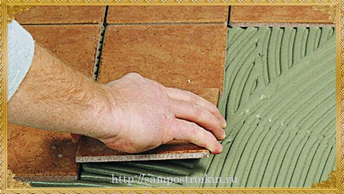 Эпоксидный клей для плитки