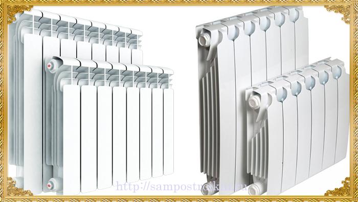 Формы и геометрия биметаллических радиаторов