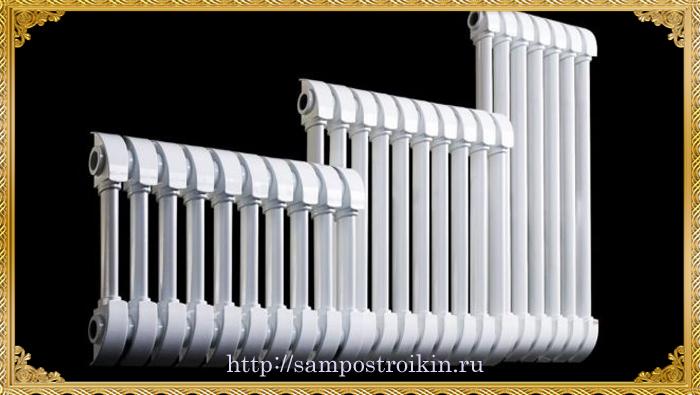 Типоразмеры биметаллических радиаторов