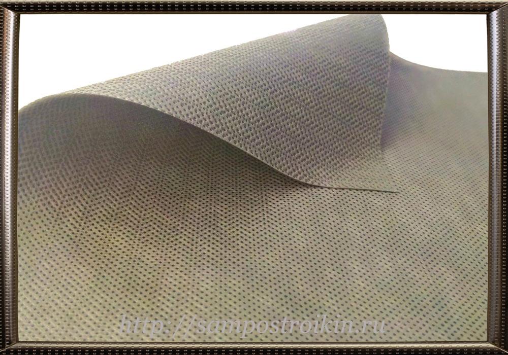 Двухслойная диффузная мембрана для утепления потолка