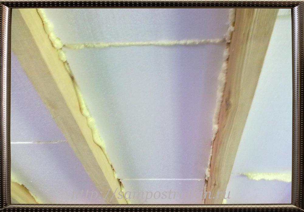 Пенополистирол для утепления потолка