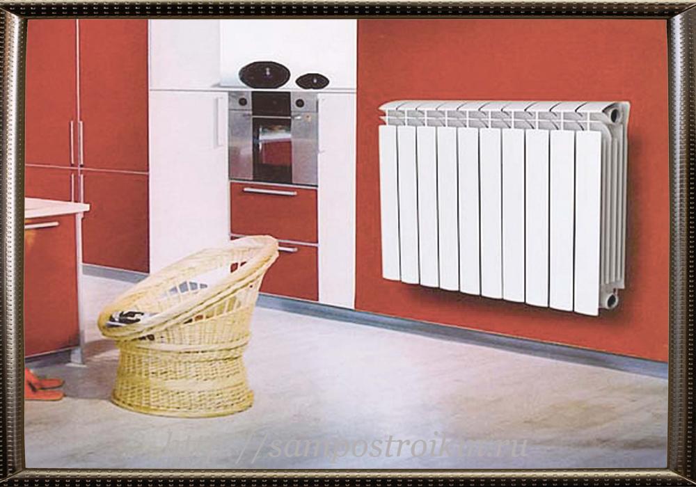Типы алюминиевых радиаторов