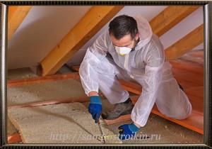 Выбор материалов для утепления потолка с холодной крышей